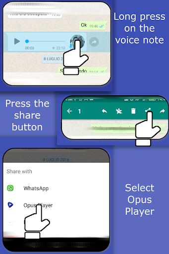 Opus Player - WhatsApp Audio Search and Organize  screenshots 2