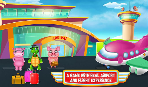Airport Activities Adventures Airplane Travel Game apkmartins screenshots 1