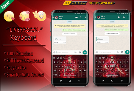 Reds Keyboard Theme Football For Pc | How To Install (Windows 7, 8, 10 And Mac) 2