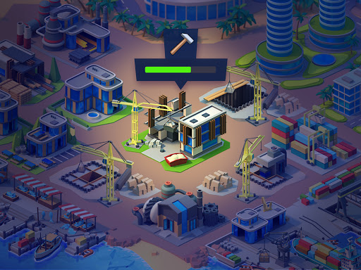 Sea Port: Cargo Ship & Town Build Tycoon Strategy 1.0.153 screenshots 5