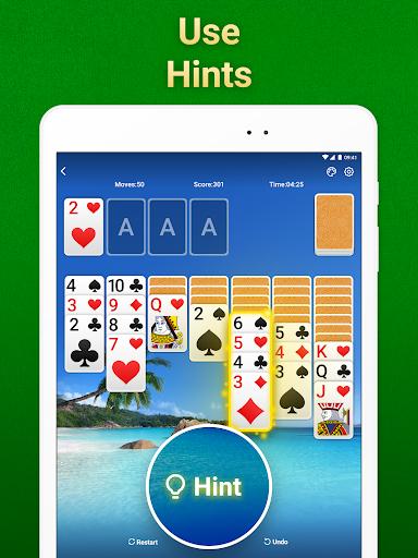 Solitaire Klondike: card games Apkfinish screenshots 12