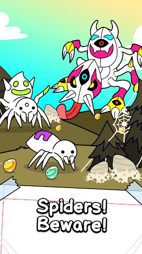 Spider Evolution - Merge & Create Mutant Bugs screenshots 1