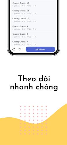 Moon Truyện - MXH Đọc Truyện Tranh Mới & Nhanhのおすすめ画像4
