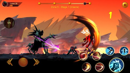 Shadow fighter 2: Shadow & ninja fighting games 1