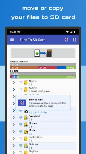 Files To SD Card  screenshots 2