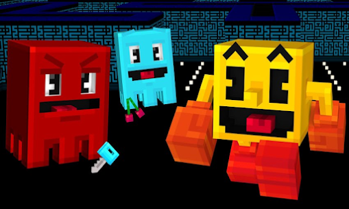 Pac-Mod Pacman Mod for Minecraft PE Game Hack Android and iOS 2