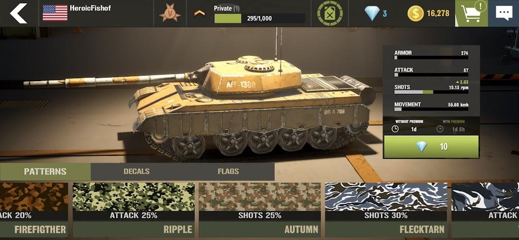 War Machines: Tank Army Game poster 9