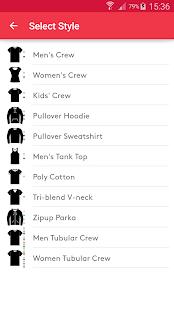 T-shirt design - Snaptee 1.1.7.4 Screenshots 7
