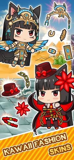 Isekai Samurai Cat Kawaii  screenshots 2