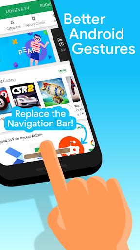 [Discontinued] Navigation Gestures–Swipe Controls screen 0