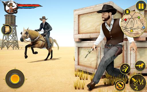 Cowboy Horse Riding Simulation apktram screenshots 20