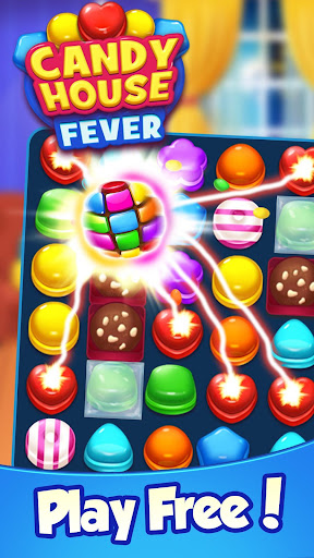 Candy House Fever - 2020 free match game modiapk screenshots 1