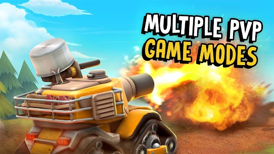 Pico Tanks: Multiplayer Mayhem Mod Apk (Unlimited Money/No Reload) 3