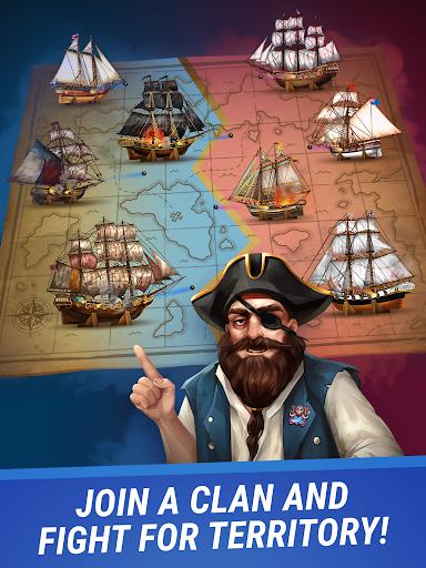 Pirates & Puzzles - PVP Pirate Battles & Match 3 Apkfinish screenshots 10