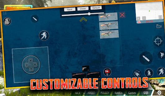 Free survival: fire battlegrounds battle royale screenshots apk mod 5