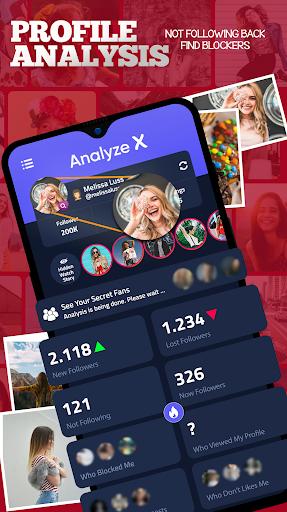 Analyze X - Followers Analytics for Instagram screenshots 1