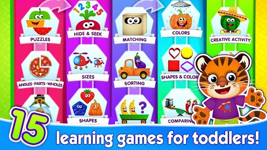 Funny Food educational games For Pc | How To Install  (Free Download Windows & Mac) 1