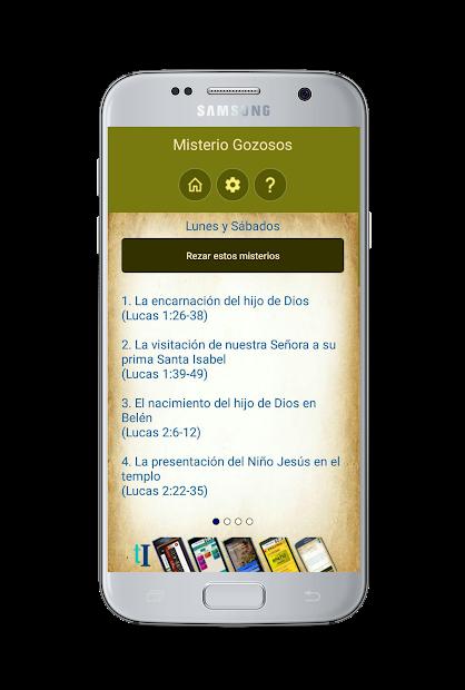 Captura 6 de Santo Rosario con Audio para android