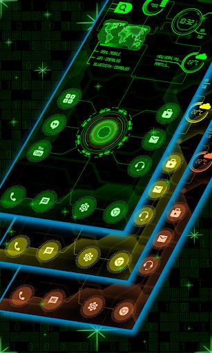 circuit launcher 2020 - next generation theme screenshot 1