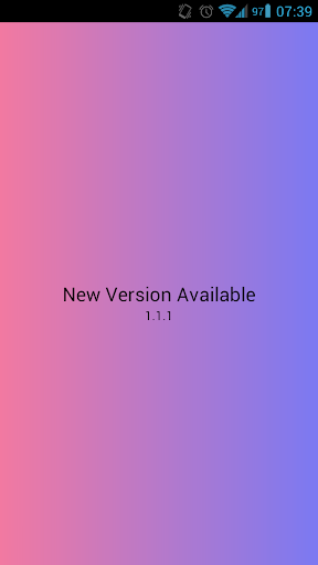 New Version Available  screenshots 1