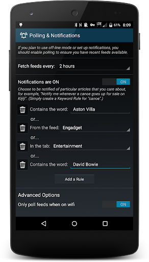 RSS Savvy screenshot 5