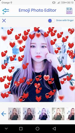 Emoji Photo Editor ud83dudc99 (Emoji & Crown Heart Emoji) 3.1 Screenshots 3