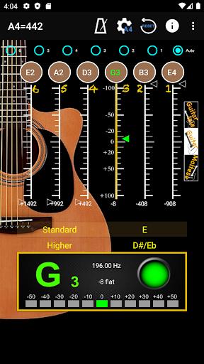 GuitarTuner - Tuner for Guitar apktram screenshots 1