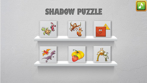 shadow puzzle game for kids screenshot 1