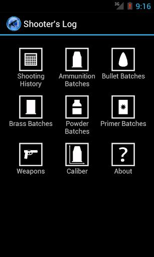 shooter's log screenshot 1
