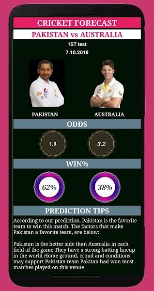 cricket forecast ( prediction, BBL ,BPL, IPL,PSL )