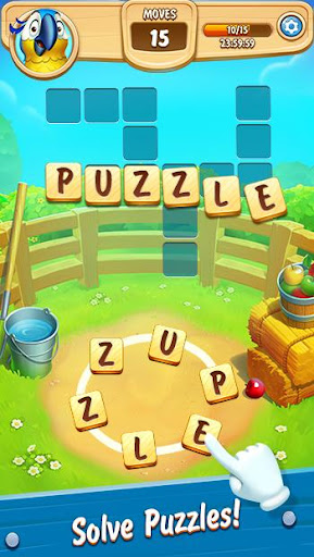 Word Farm Scapes: New Free Word & Puzzle Game 4.31.3 screenshots 1