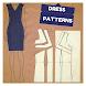 ドレスパターンコース。裁縫とファッション