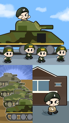 Tap Tap Soldier - Space War  screenshots 6