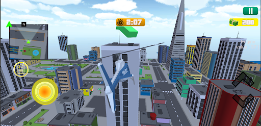 Grand City Theft War: Polygon Open World Crime 2.1.4 screenshots 4