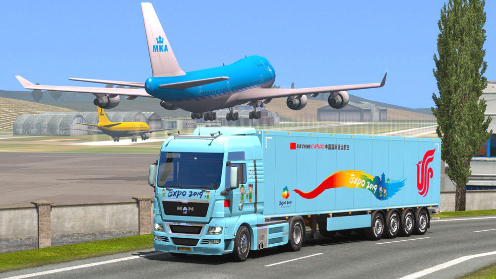 Imágen 4 de Euro Cargo Truck Simulator 2020 : Driving Master para android