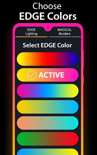 Edge Lighting - Borderlight Live Wallpaper 2.5 Screenshots 9