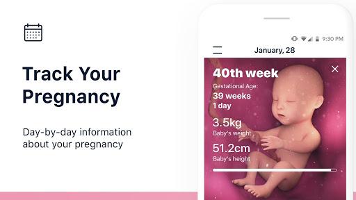 Stork u2014 Pregnancy Tracker & Calendar App 3.7.6 Screenshots 1