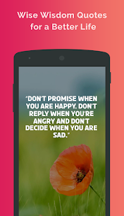 Wisdom Quotes: Wise Words For Pc | Download And Install  (Windows 7, 8, 10 And Mac) 1