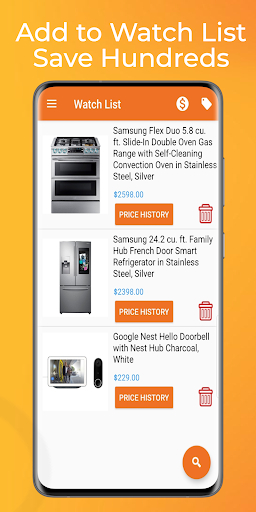 Price Tracker for Home Depot Latest screenshots 1