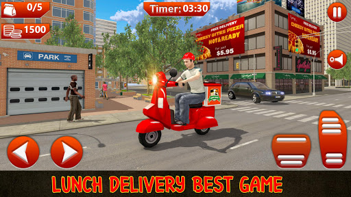 Moto Bike Pizza Delivery Games 2021: Food Cooking 1.12 screenshots 1
