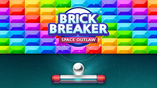 Brick Breaker : Space Outlaw apktreat screenshots 1