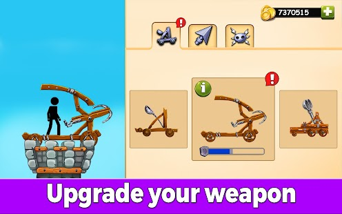 The Catapult 2: Grow Castle・Tower Defense・Stickman Screenshot