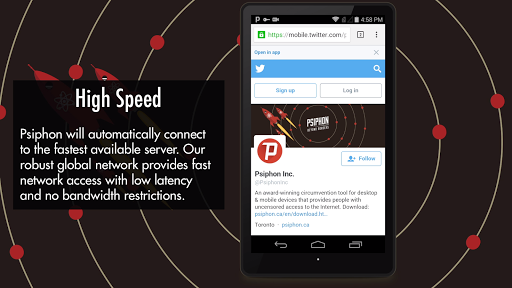 Foto do Psiphon Pro - The Internet Freedom VPN
