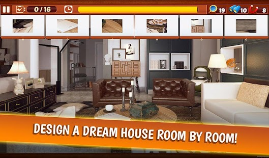 Home Designer - Dream House Hidden Object Screenshot