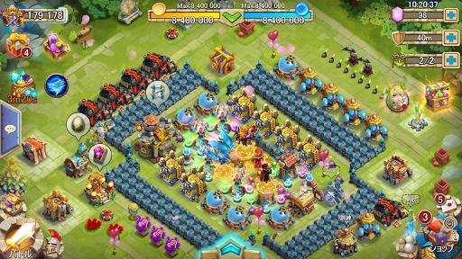 Castle Clashuff1au30aeu30ebu30c9u30edu30a4u30e4u30eb 1.7.3 screenshots 6