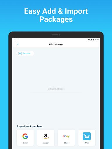 Package Tracker - Fedex, USPS, UPS, Wish, DHL, TNT apktram screenshots 5