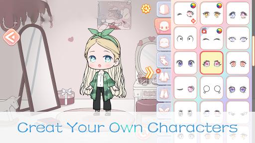 YOYO Doll - dress up games, avatar maker apklade screenshots 2