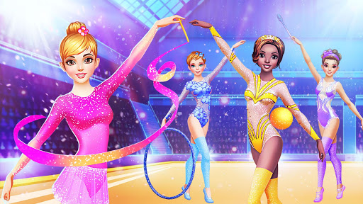u2605 Gymnastics Games for Girls - Dress Up u2605 screenshots 8