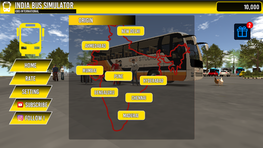 INDIA BUS SIMULATOR 2.1 screenshots 3