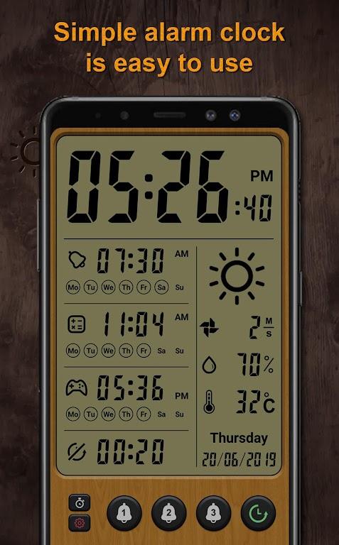 Alarm clock Pro  poster 0